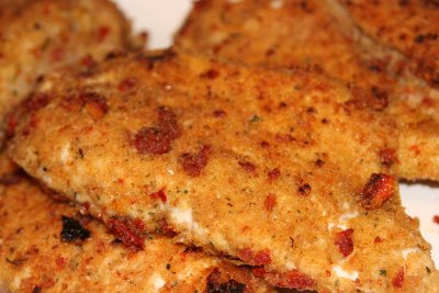 Sun-Dried Tomato Crusted Chicken Recipe