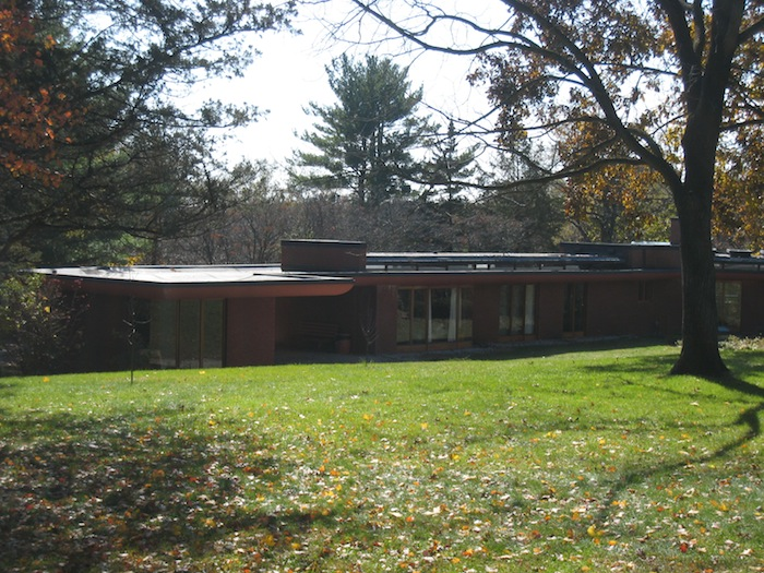 Frank Lloyd Wright's Cedar Rock house in Iowa