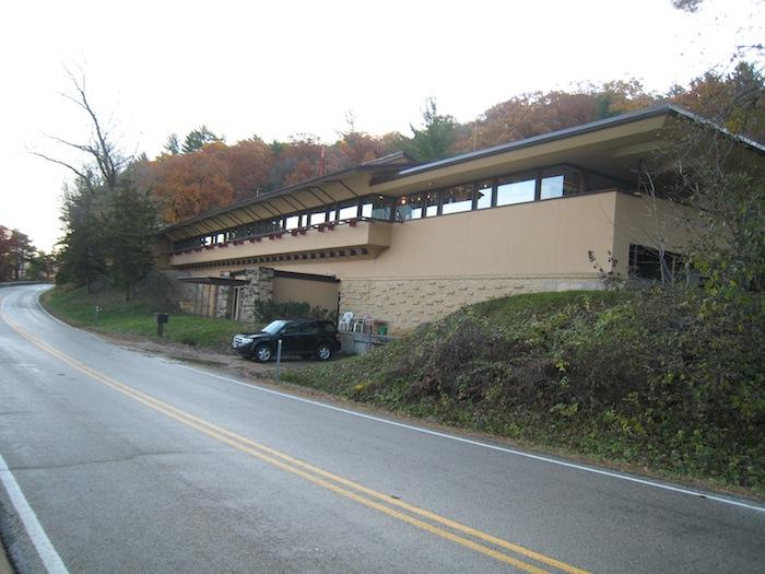 Taliesin Visitor Center near Spring Green Wisconsin
