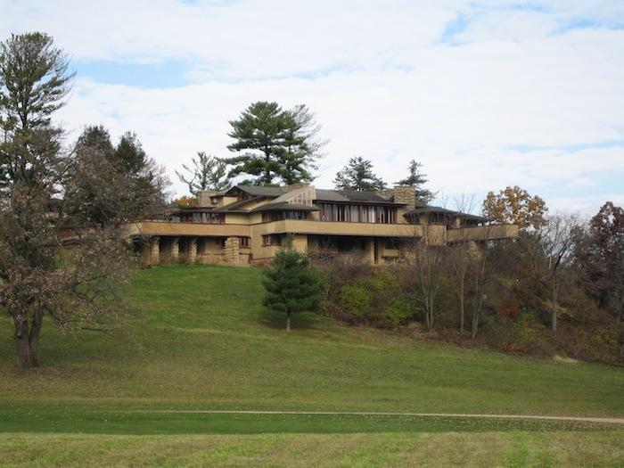 Taliesin near Spring Green, Wisconsin