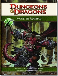 Dungeons & Dragons 4th Edition Monster Manual