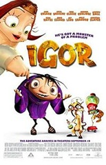 The poster for Igor