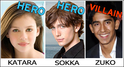 avatar: the last airbender casting actors
