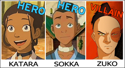 Avatar: The Last Airbender casting characterss