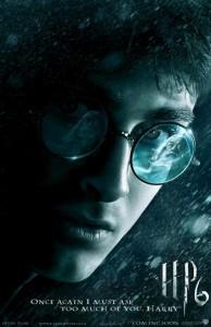 Harry Potter Half Blood Prince Movie Poster 1