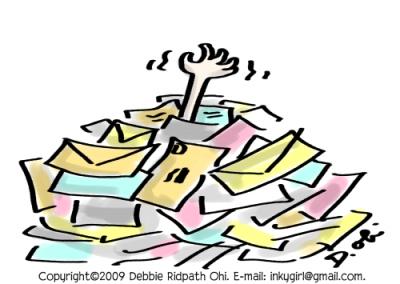 E-mail pile