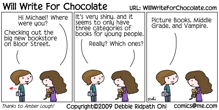 Will Write For Chocolate - Children's Books