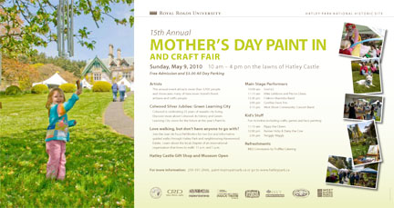 Martycultural Art Blog The 2010 Mother S Day Paint In At Hatley