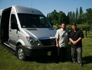 Butler Transportation & Valet Mercedes Van