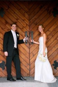 Bride & Groom DeLille Doors