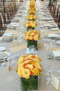 MG Davis Events Wedding Table