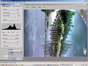 Editing single HDR