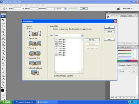 Photomerge Screenshot