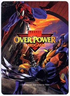 1996 MARVEL OVERPOWER CCG LISTING 2 of 3 HERO CARDS - - PICK ONE IQ