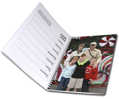 Custom Photo Day Planner