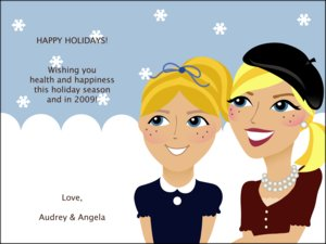 Caricature Holiday Cards by Pose Prints