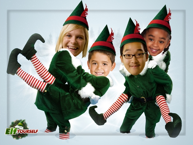 ElfYourself 2009 - Four Elves - (web)