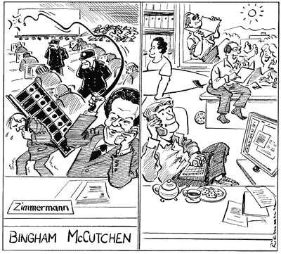 Bingham McCutchen Cartoon