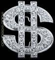 Dollar Sign Diamond Jewlery