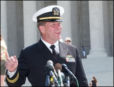 Navy Lt. Cmdr. Charles Swift