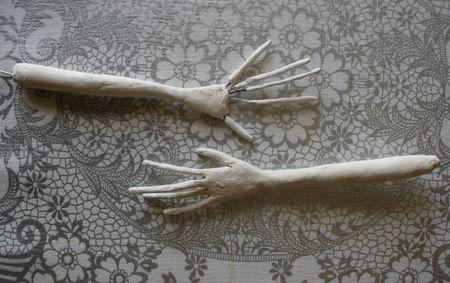 Hands raw