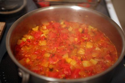 saffron tomato fennel soup