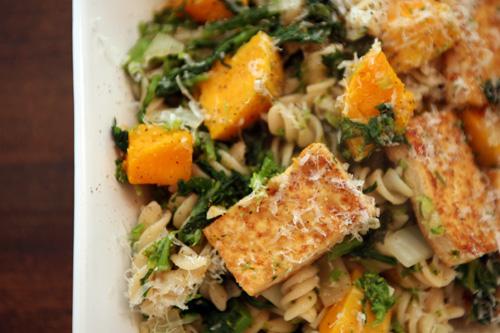 maple glazed tofu with spaghetti squash recipes dishmaps maple glazed ...