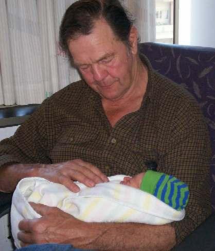 Spike and Grandpa