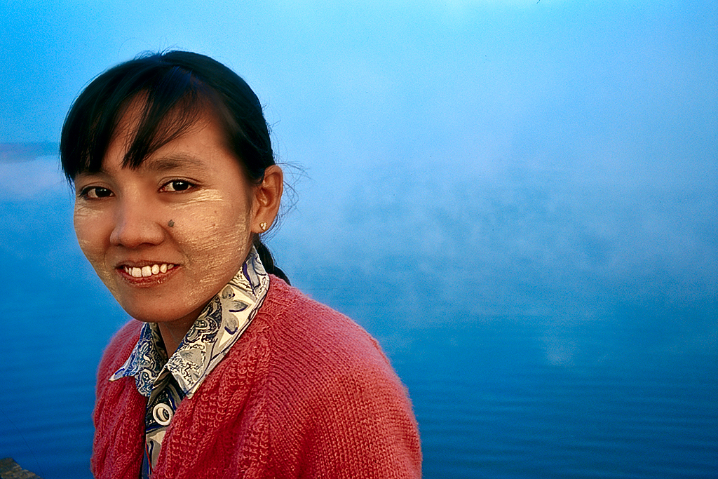 Girl in Fog_Myanmar_Infrared