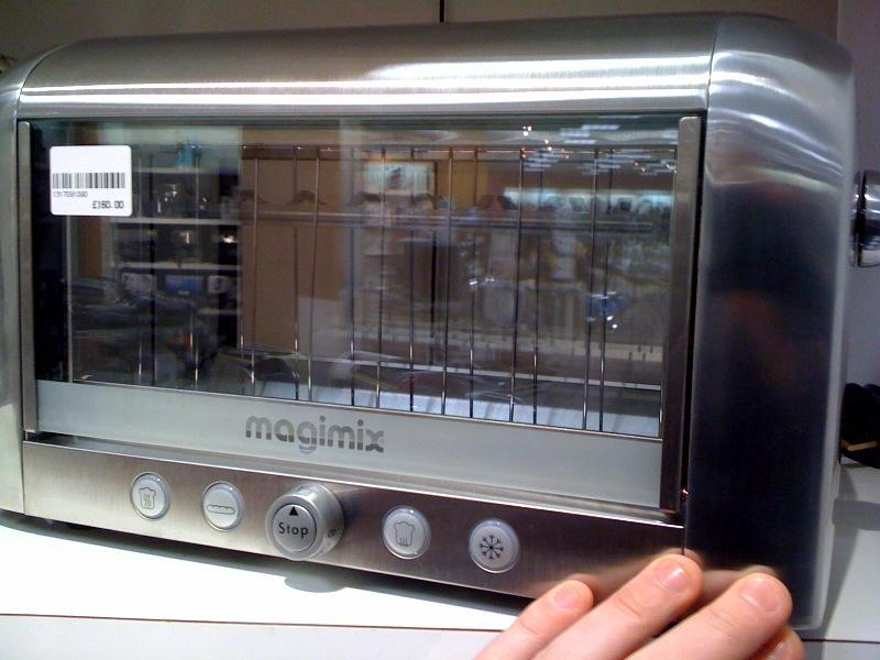 Techmoan Techmoan Magimix Vision Glass Sided Toaster