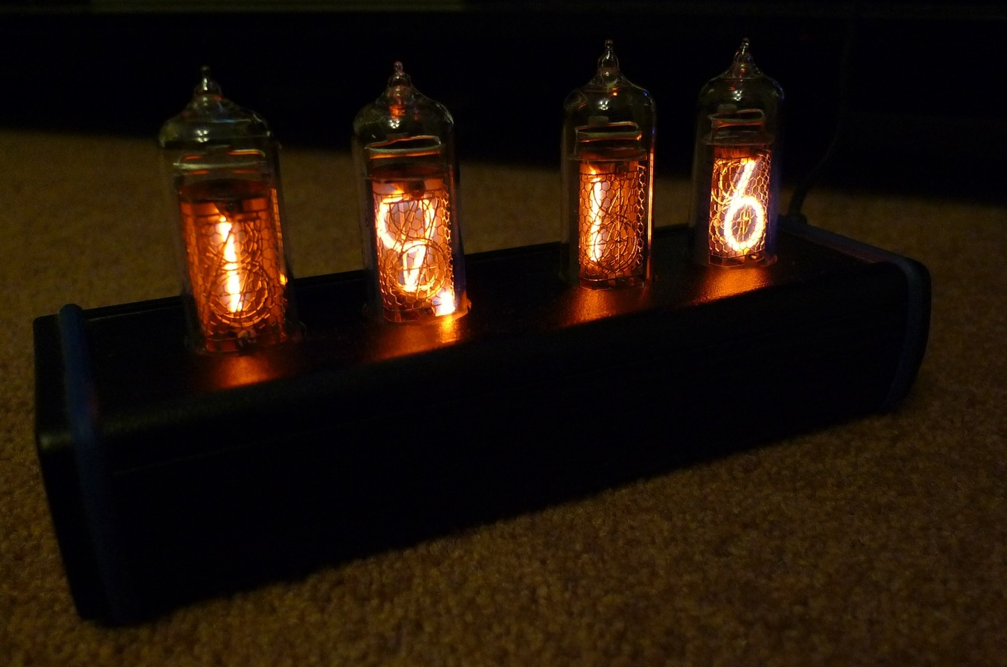 Techmoan Nixie Clocks And The Watch Schematic Of My 6 Digit Clock Here Are Some Photos