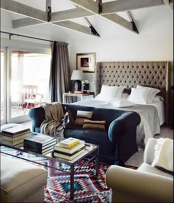 Charming Upholstered Headboard Exposed  May | 2010 | Emily Henderson | Page 3 Great Ideas