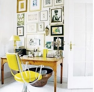 gallery-wall-art-wood-desk