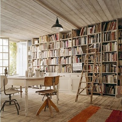 sunny-white-office-floor-to-ceiling-book-shelf