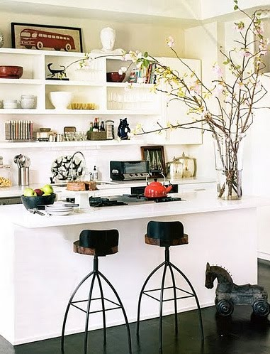 eclectic-kitchen-stools