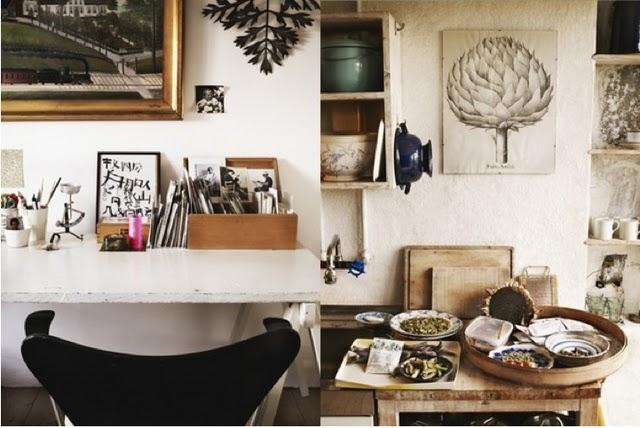 eclectic-desk-vintage