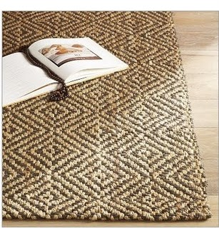 Diamond-Stripe-Jute-Rug