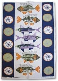 fish-print-tea-towel