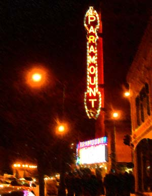Paramount Theatre, Chris Rock in town