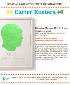 An evening with Carter Kustera