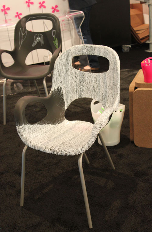 M Dashing   ICFF: Umbrau0027s Oh Chair Artwork