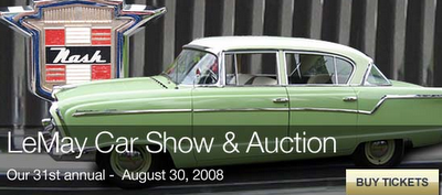 Save The Date The LeMay Car Show Auction Event Planning Blog By - Lemay car show