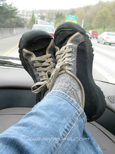 Shoes in the car.jpg