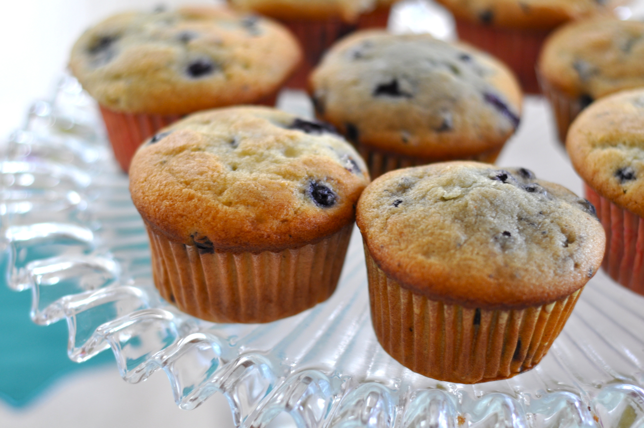 ... stylist and style expert - Blog - Blueberry Coffee Cake Muffins