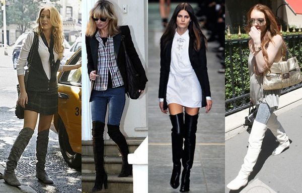 Naina Singla - fashion stylist and style expert - Blog - Style Trend: Over the Knee Boots