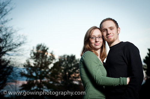 Nick and Becky Dennis engagement photographs - Lincoln, Illinois - Michael Gowin