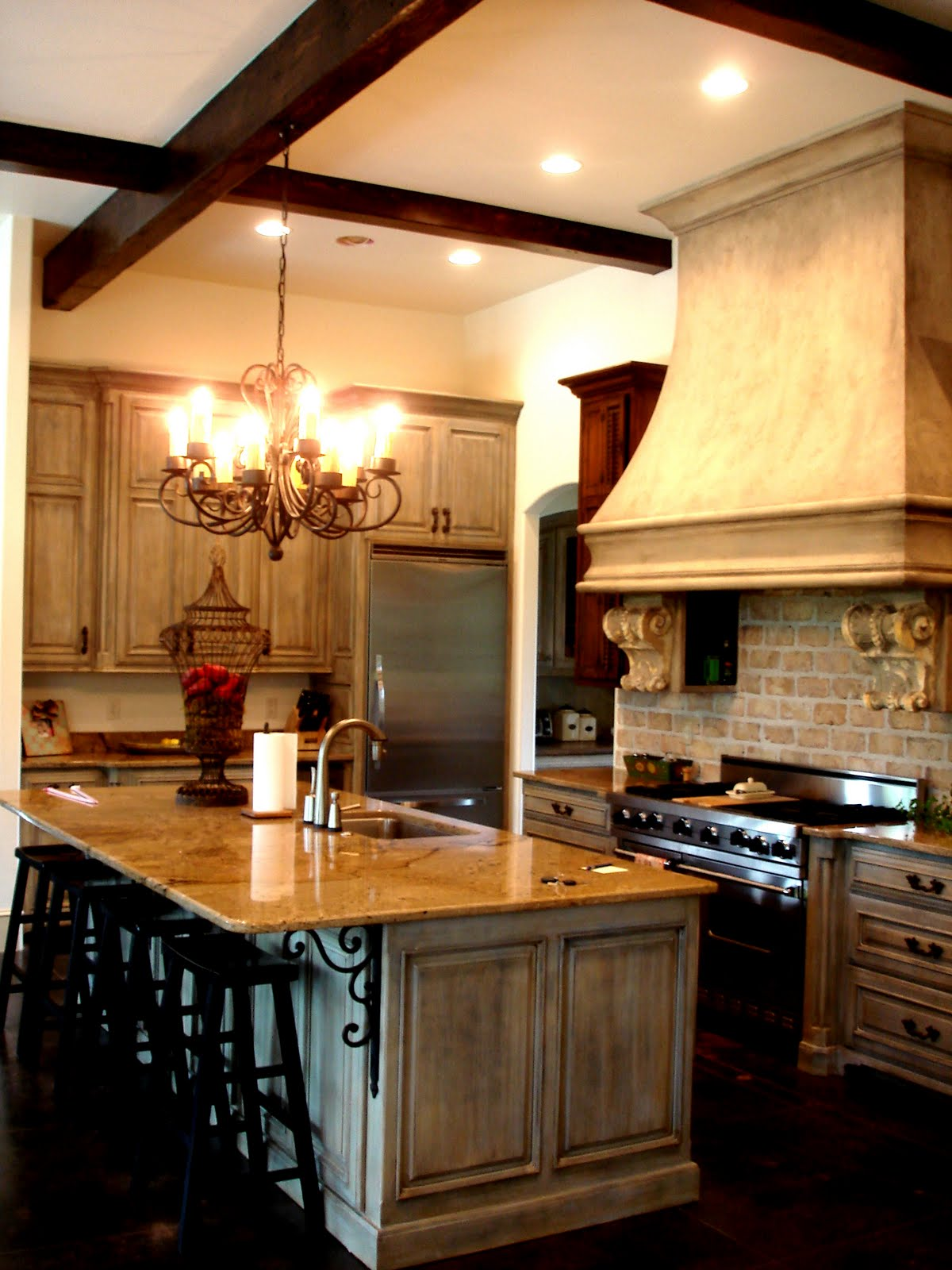 Stained Concrete Kitchen Floor An Arkansas Gem Providence Design