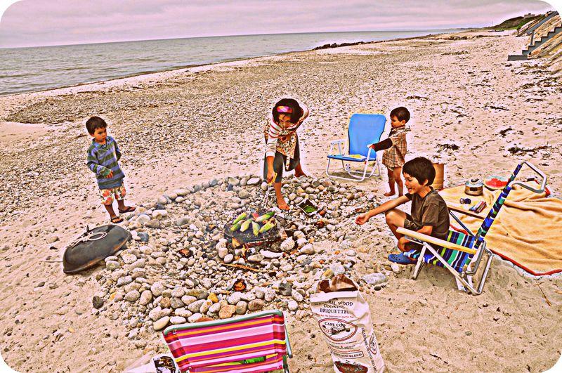 Beach cookout1