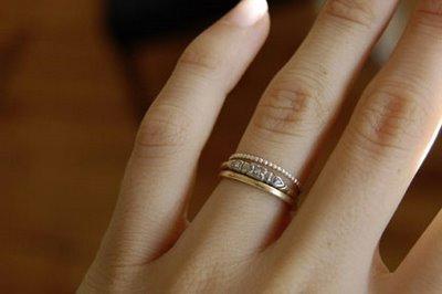 i heart simple wedding rings