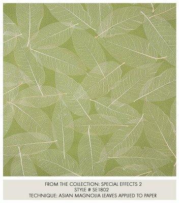 Bird pattern handpainted silk wallpaper - asian - wallpaper - by